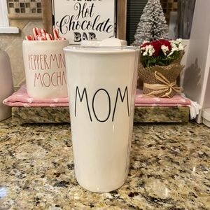 Rae Dunn MOM ceramic tumbler
